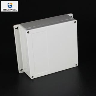 192*188*70mm IP67 Waterproof ABS PC Plastic Junction Box with Ear