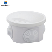 50*50mm ABS PVC Plastic Waterproof Electrical Junction Box