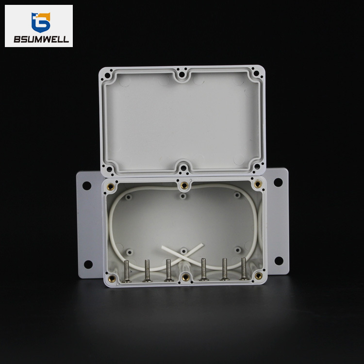 PS-WT Series IP67 Waterproof ABS PC Plastic Junction Box with Ear