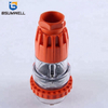 Australia Standard 56P410 three phase 250V/500V 4 round pin Waterproof straight industrial plug with CE Approval