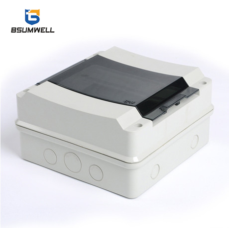 HK-8ways waterproof plastic Electrical wire distribution box