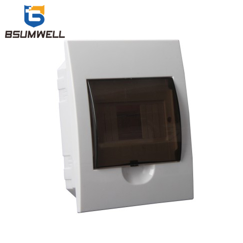 TSM-6ways Flush Type Waterproof Breaker Box Plastic Distribution Box