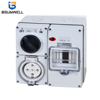 PS-56CV-E4 IP65 Combination Switch Socket