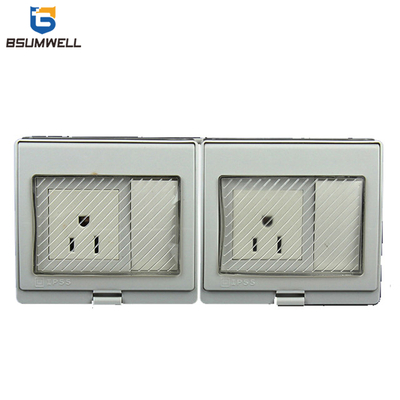 PS-2AMS Americal Socket And Switch