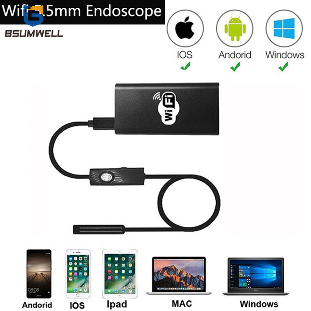 PS-W501 5.5mm Wifi Endoscope