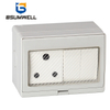 PS-SA2S IP55 Waterproof ABS PC Plastic South Africa Type 16A 2Gang Switch 1Gang Socket