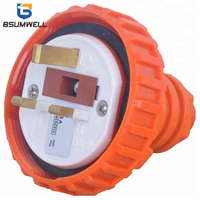56p313 uk type 250V 13A 13amp 13 AMP waterproof industrial plug with CE