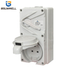 56UKC-DG 56UKC-313 250VAC 13A 15A IP65 Waterproof Industrial Switch And Socket