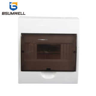 PS-TSM-S8WAYS IP50 Waterproof Surface Type Plastic Distribution Box