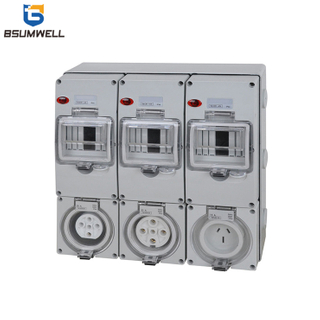 PS-56CV-E9 IP65 Combination Switch Socket