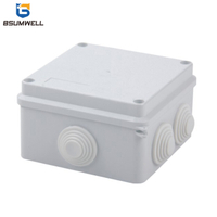 100*100*70 ABS PVC Mini Small Plastic Waterproof Electrical Cable Junction Box
