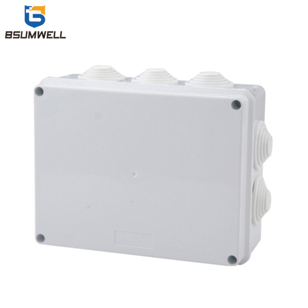 200*155*80 ABS+PVC Waterproof Electrical Plastic Junction Box