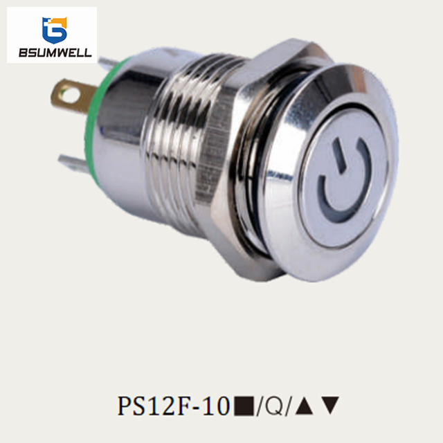 Waterproof metal pushbutton & indicator