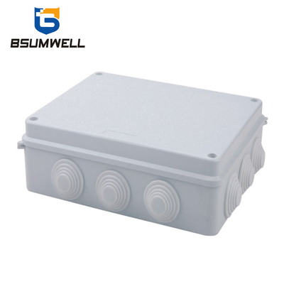 255*200*120 ABS PVC Wall Mountl Plastic Waterproof Electrical Junction Box